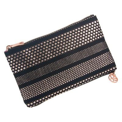 0544fe1c6f3 Sonia Kashuk™ Cosmetic Bag 2-Zip Purse Kit Mesh with Metallic ...