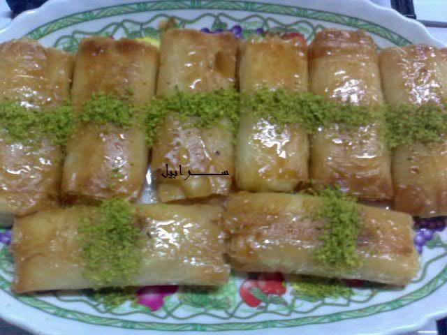 زنود الست Ramadan Desserts Baklava Recipe Food