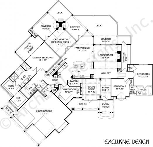 Amicalola Cottage House Plans Home Plans By Archival Designs House Plans Small House Plans Cottage House Plans
