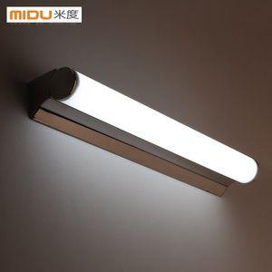 Led镜前灯防水防雾浴室卫生间厕所镜灯简约化妆梳妆台镜柜灯具 Bar