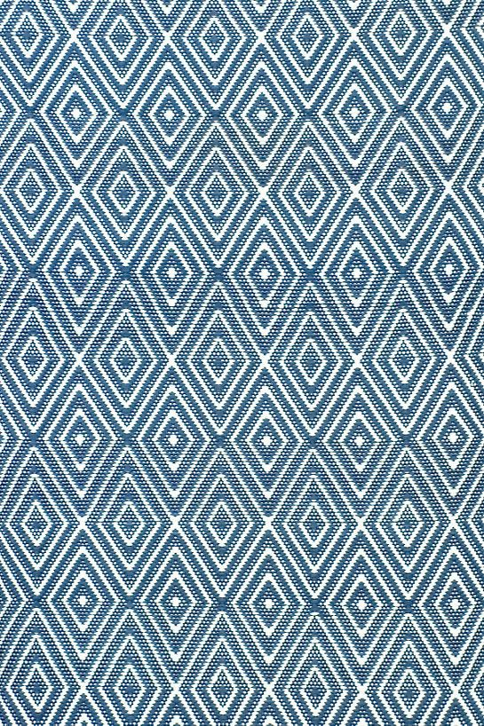 Diamond Denim White Indoor Outdoor Rug