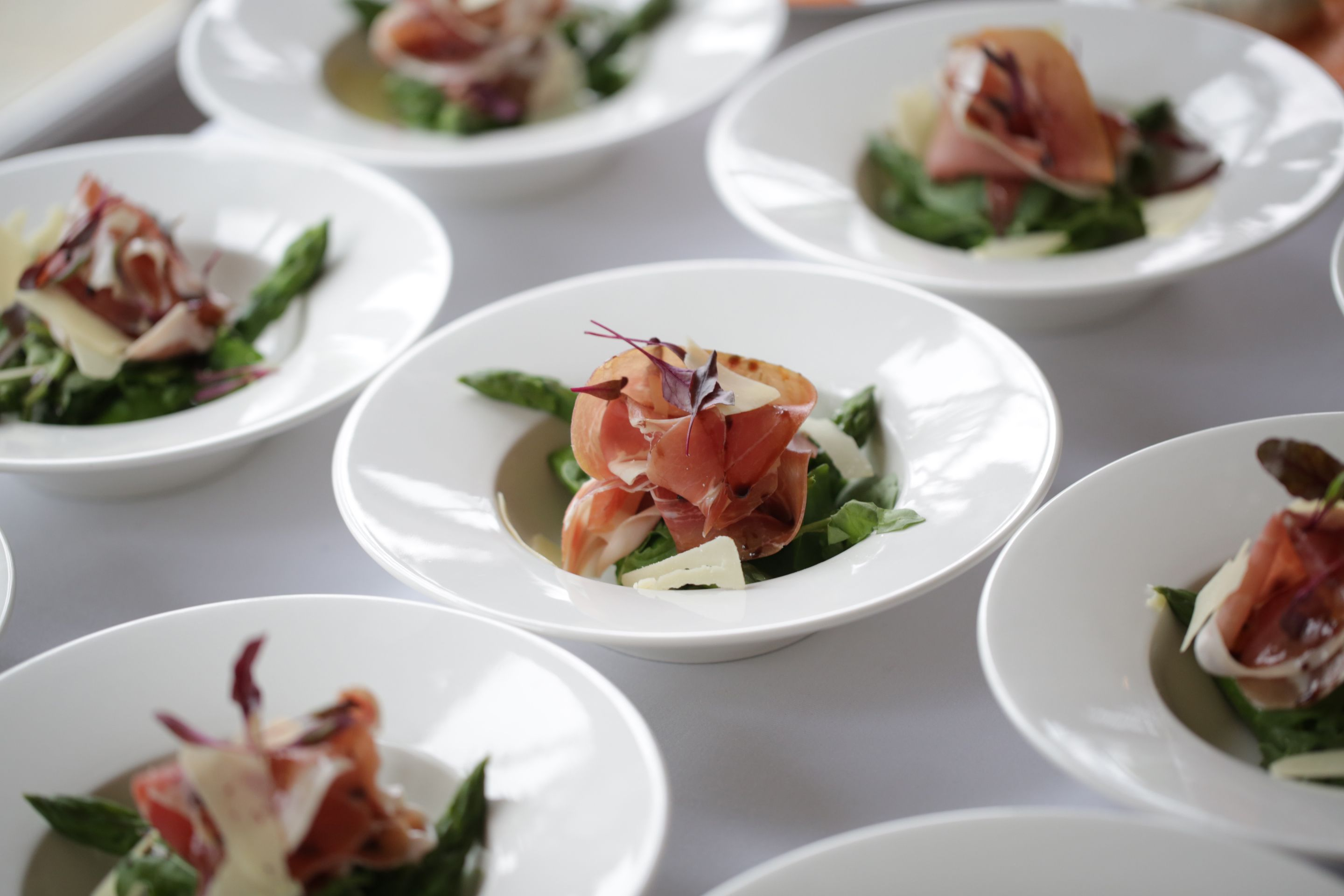 Beautiful Starters For Wedding Reception Vignette The Wedding