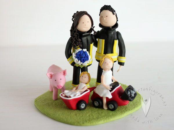 Hochzeitstortenfiguren personlich