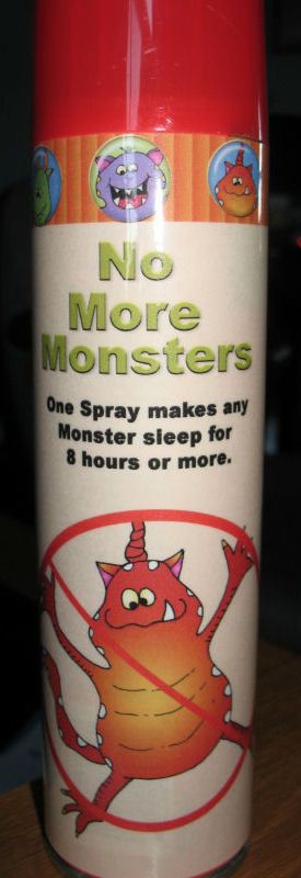 I made this cover for an air freshener can. My grandkids thought there were monsters in the basement. LOL It worked :)