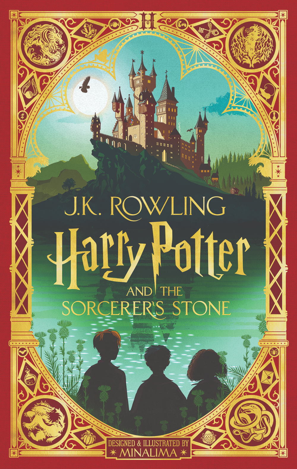 Harry Potter And The Sorcerer S Stone Minalima Edition In 2020 Harry Potter Book Covers The Sorcerer S Stone Harry Potter