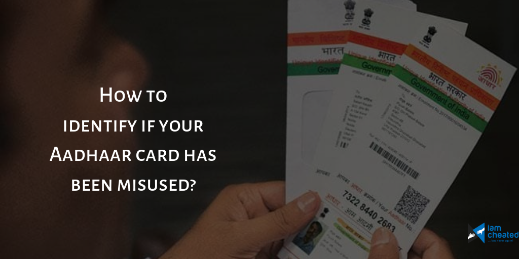 How To Identify If Your Aadhaar Card Has Been Misused Importantdocuments Aadhaar Card Is A 12 Digit Number Issued To All The Citiz Cards Identify Biometrics