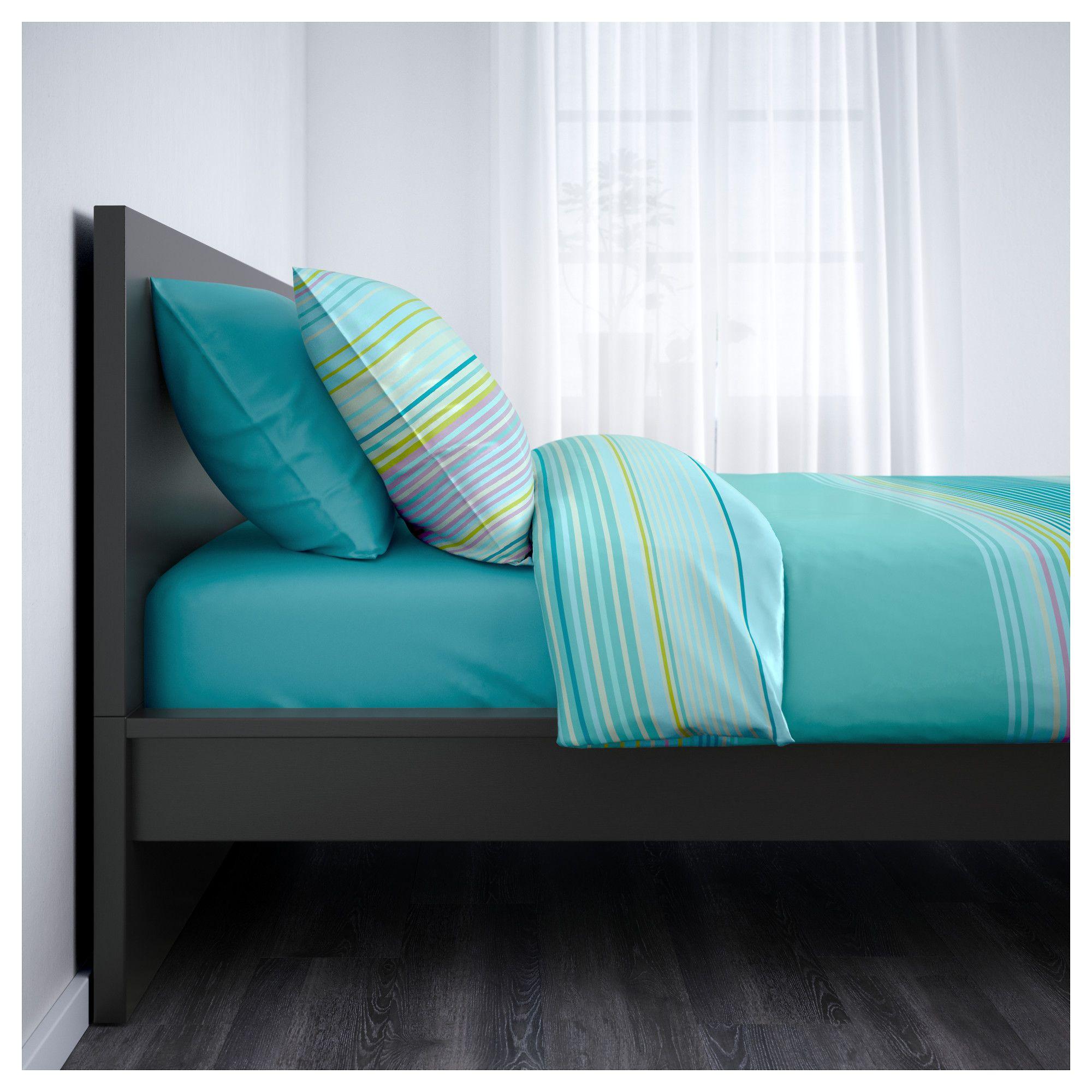 Malm Bed Frame High Black Brown Leirsund Aidan S Room