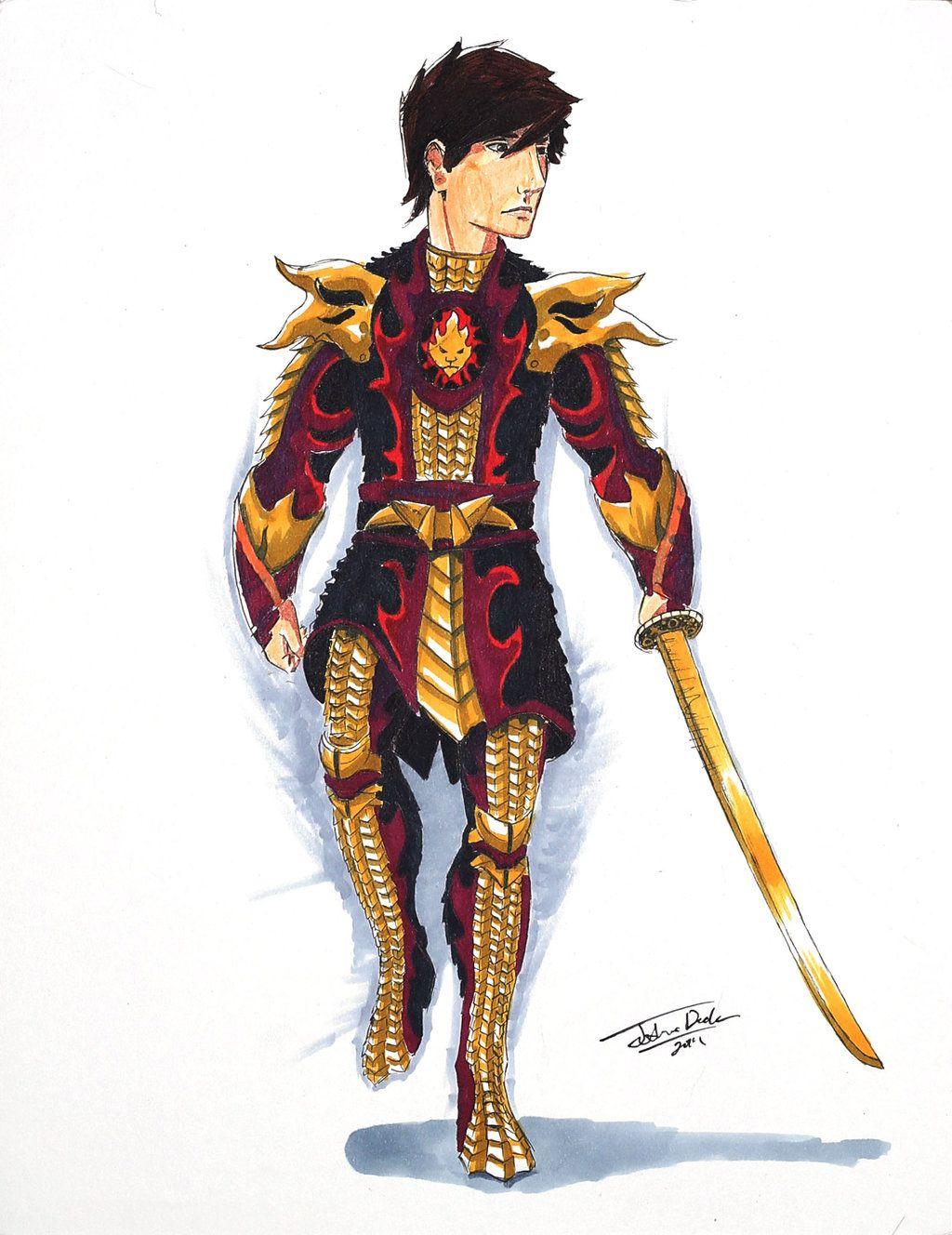 Kai Ninjago Fire Armor by on