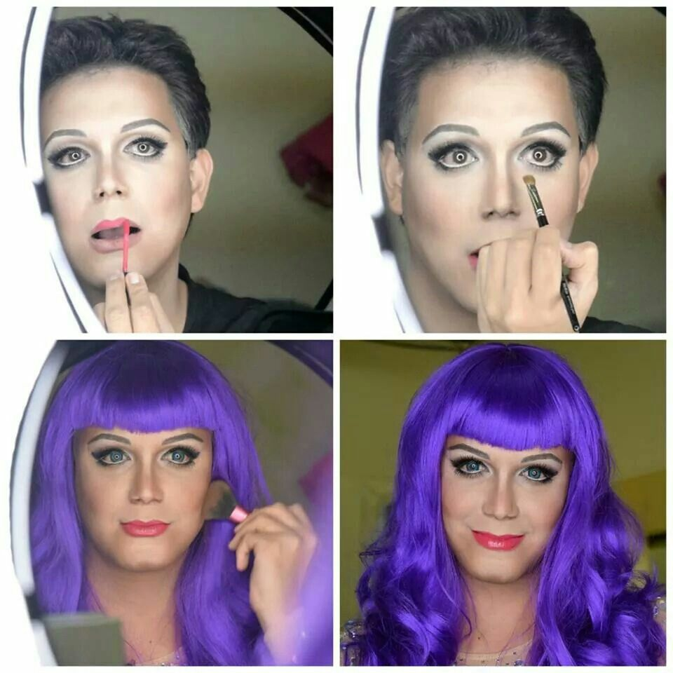 paolo ballesteros as katy perry amazing makeup