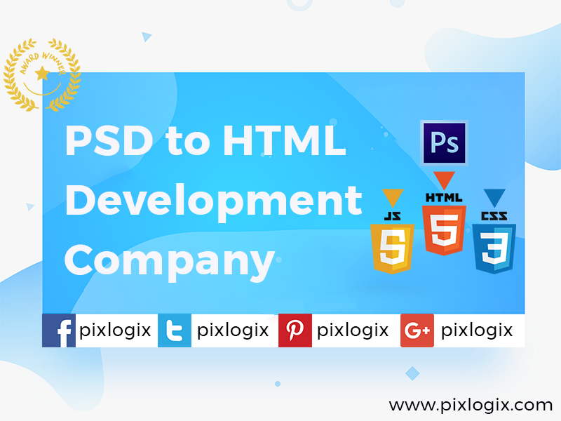 PSD To HTML Conversion Services India   PSD to HTML