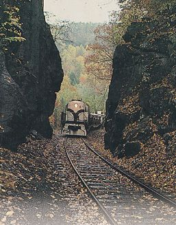 Big South Fork Scenic Railway Train-Located in historic Stearns, Ky