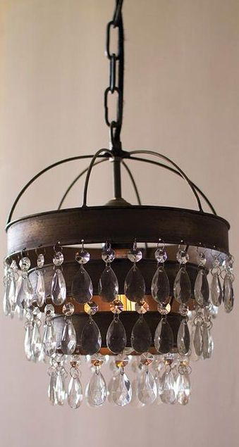 Rustic Glam Chandelier