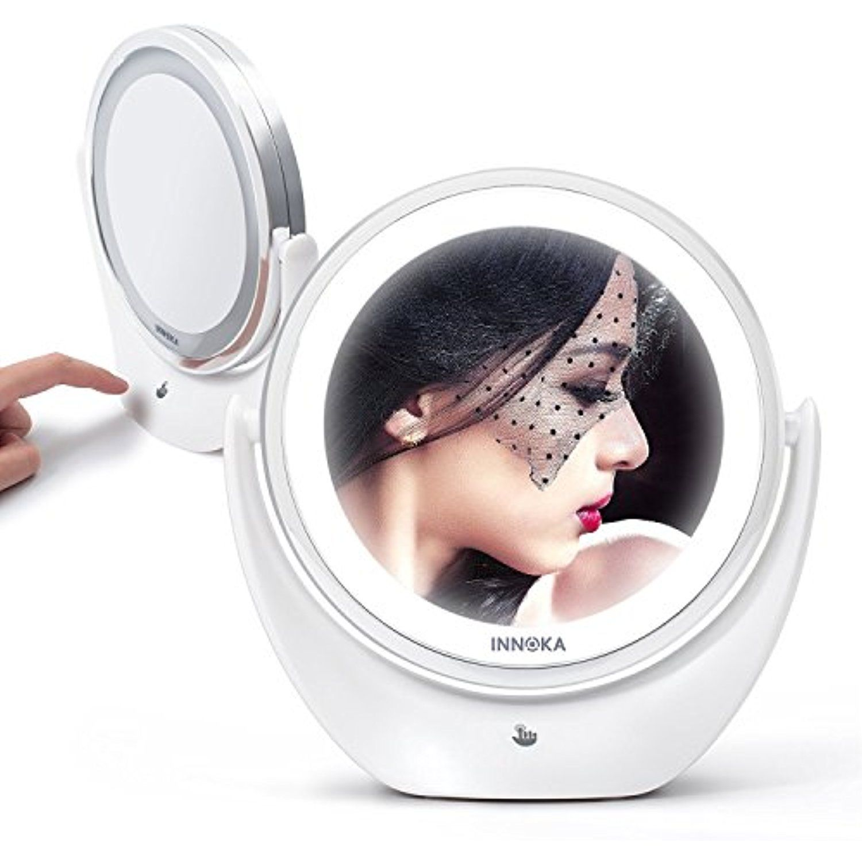 INNOKA Makeup Mirror LED Adjustable Light 1X/ 5X