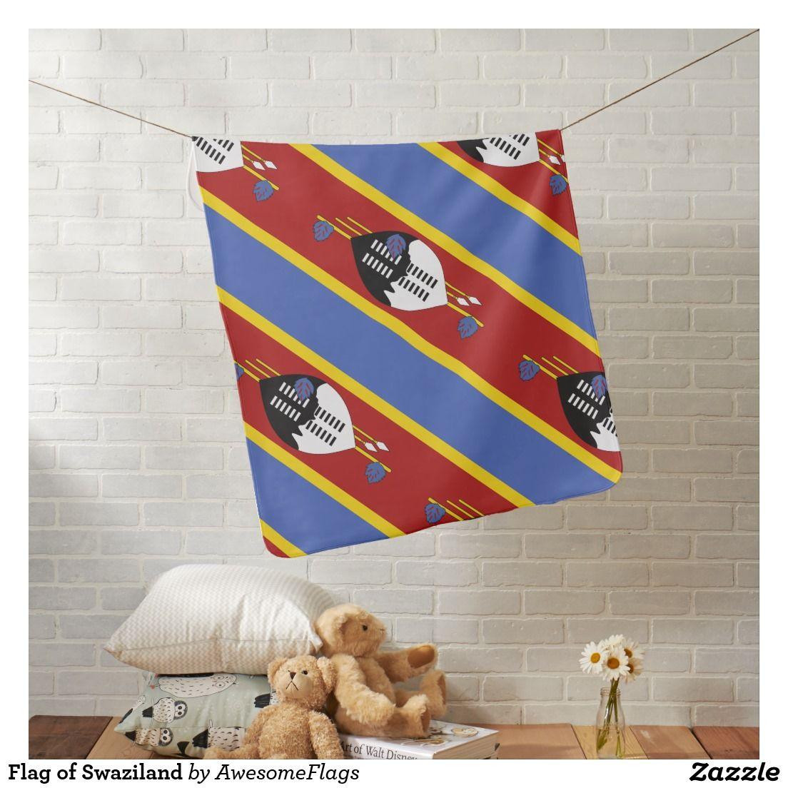 Flag of Swaziland Pramblanket