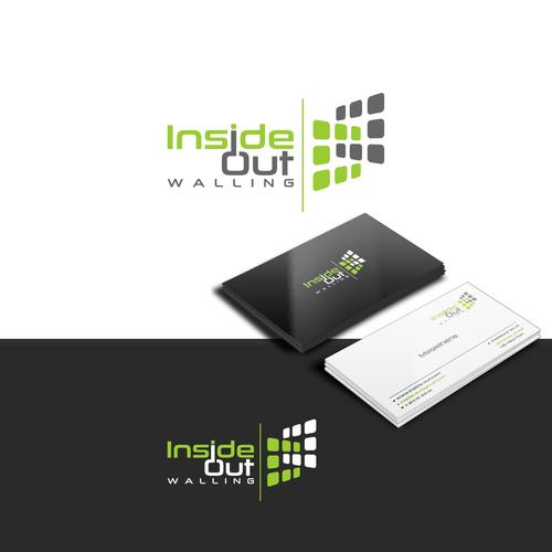 Inside Out Walling Classic Simple Design I Fix All Internal And External Wall Cladding I Also Rende Branding Design Logo Logo Branding Identity Logo Design