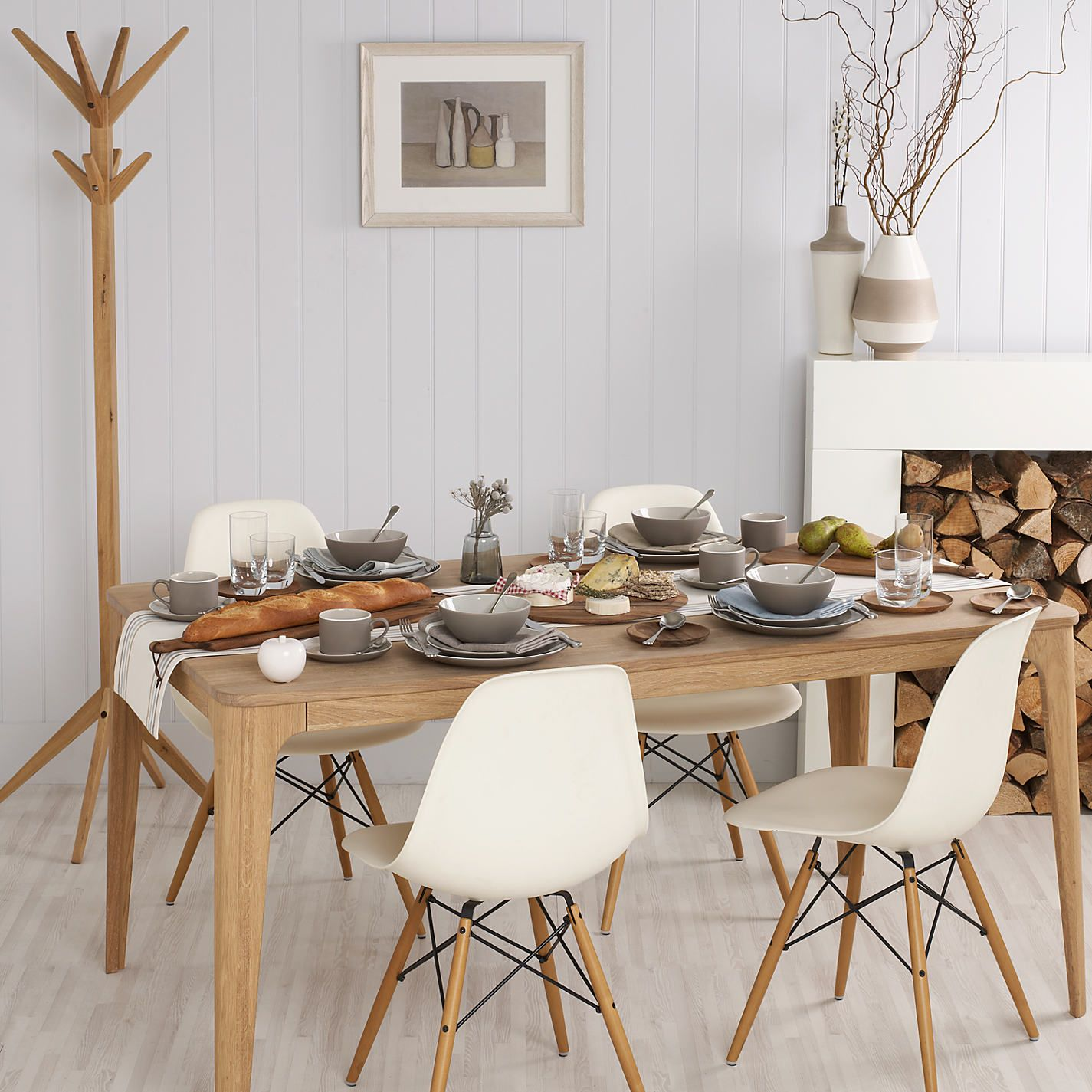 Ebbe Gehl For John Lewis Dining Table With Eames DSW Chairs