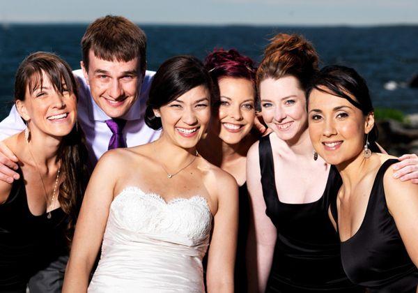 opposite sex wedding attendants in Leicester