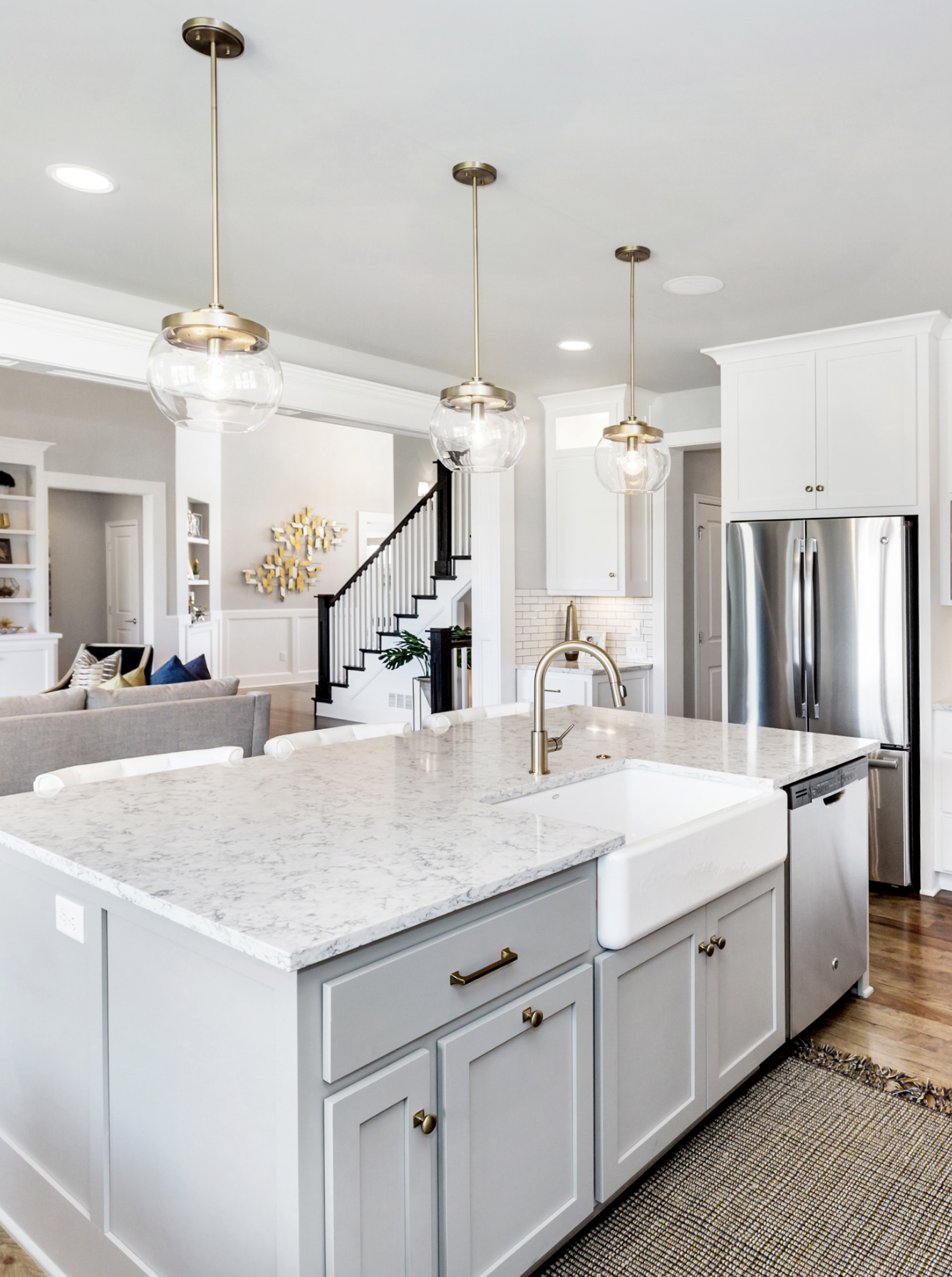 The Carter By Roeser Homes Watersedge Lot 139 3010 W 157th Terr Overland Park Kansas Our Award Winning Carter Model In W Home Home Kitchens Home Upgrades