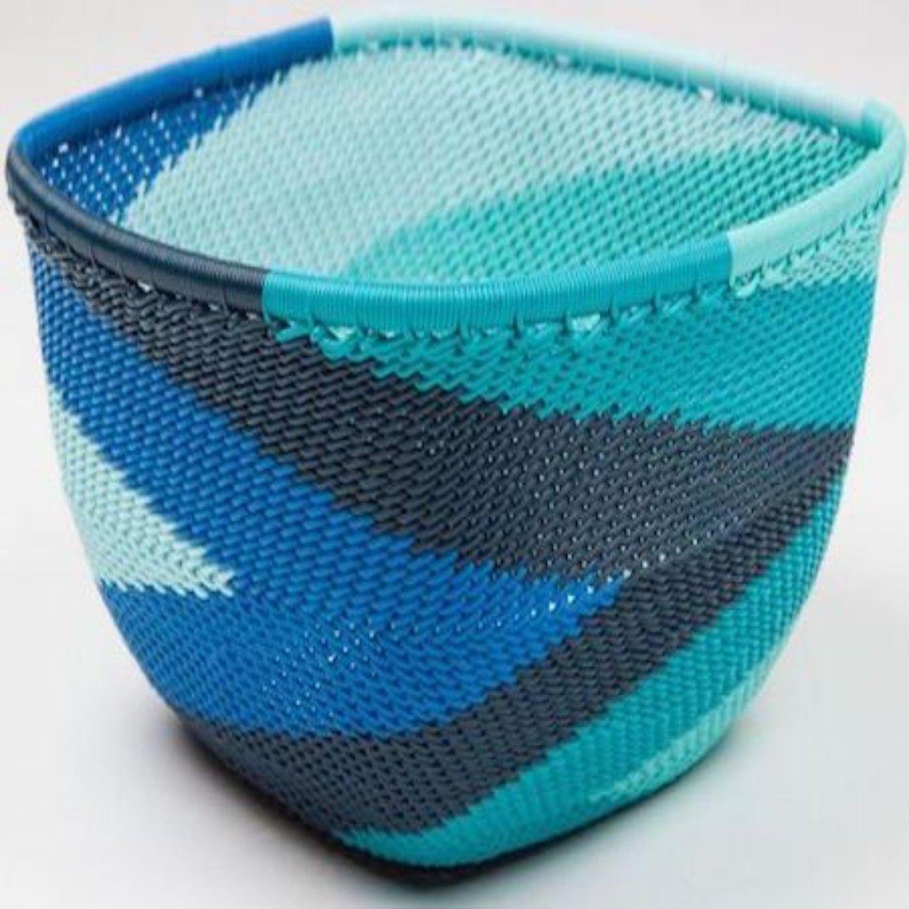 Telephone Wire: Ocean | Fair Trade Decor | Telephone Wire Baskets ...