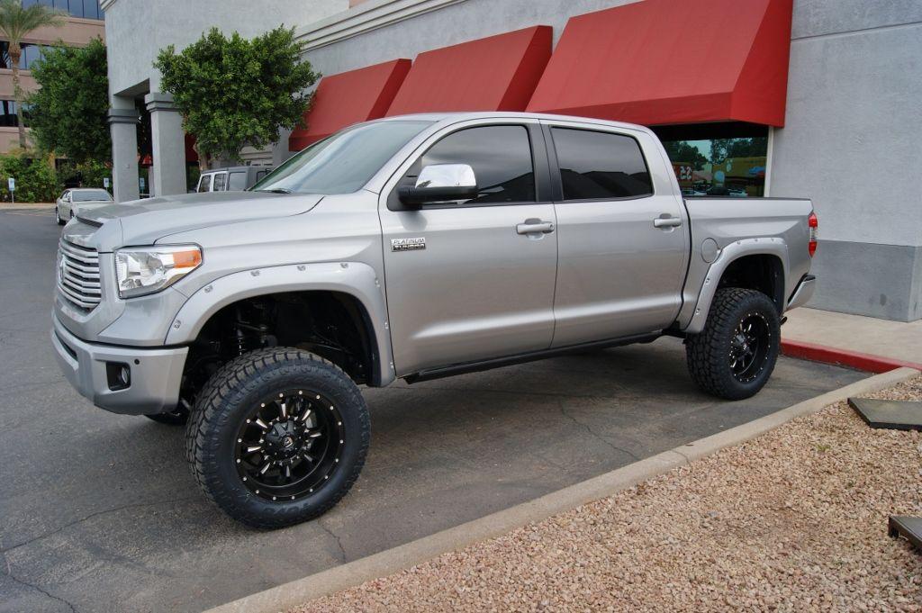 2014 Toyota Tundra Lifted Silver Www Pixshark Com