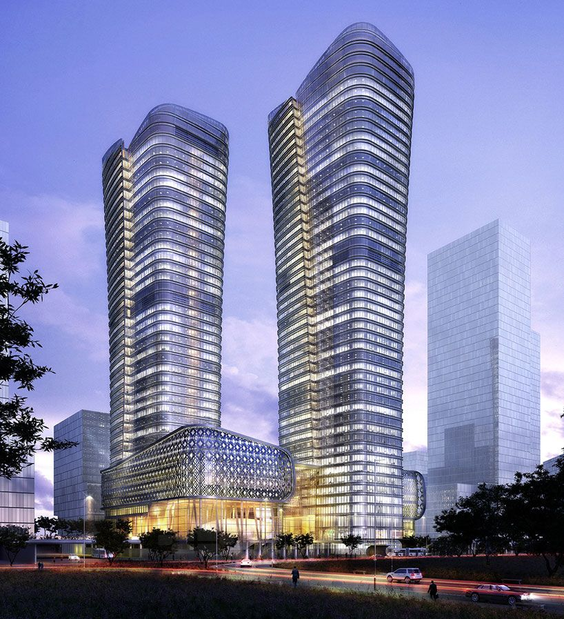 Ziraat Bank Headquarters In Istanbul By Kohn Pedersen Fox Tower Design Skyscraper Architecture Architecture