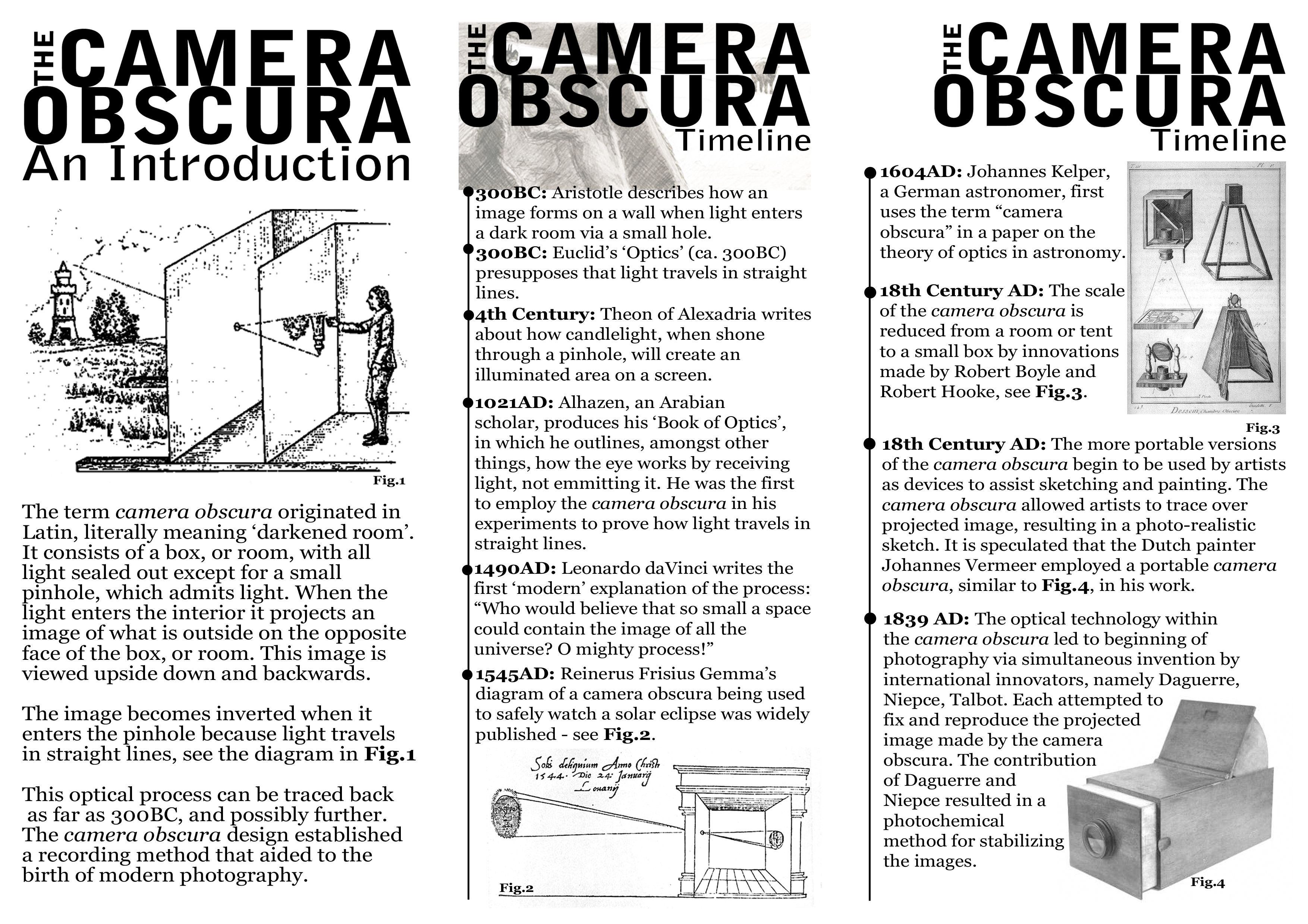 Camera Obscura Diagram 6 Pin Dc Cdi Wiring A4 Leaflet 1 Jpg 35082480 Physics Of Light Projects