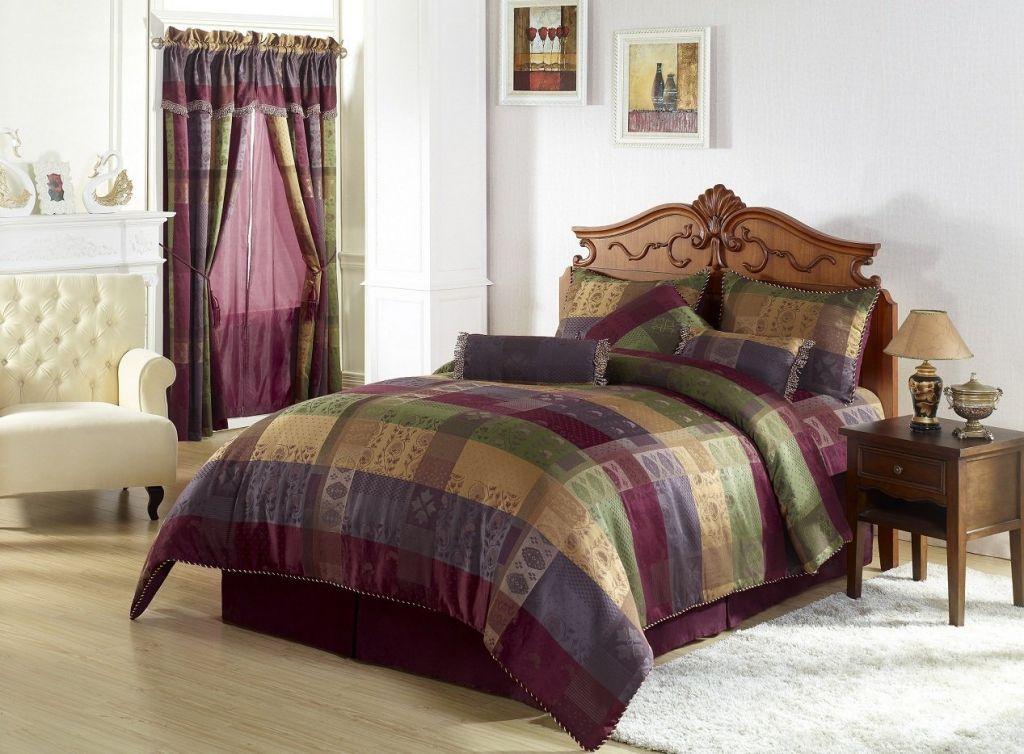 Which Burgundy Bedding Sets