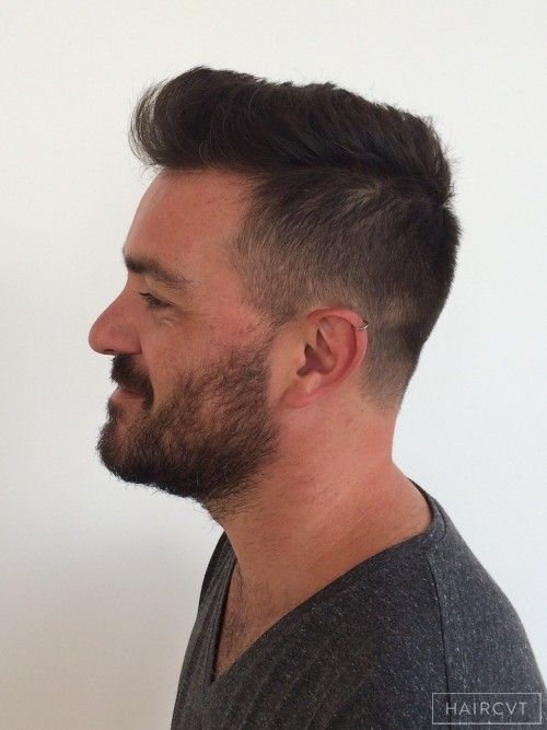 Men Graded Quiff Clipper Hairstyle Hair Styles Mens Hairstyles Hairstyle