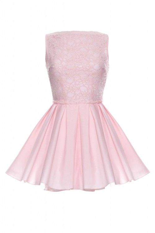 Jones and Jones Audrey Dress Pink.. @pinkchanell ♡ U CAN LTRLLY BUY THIS DRESS OMF
