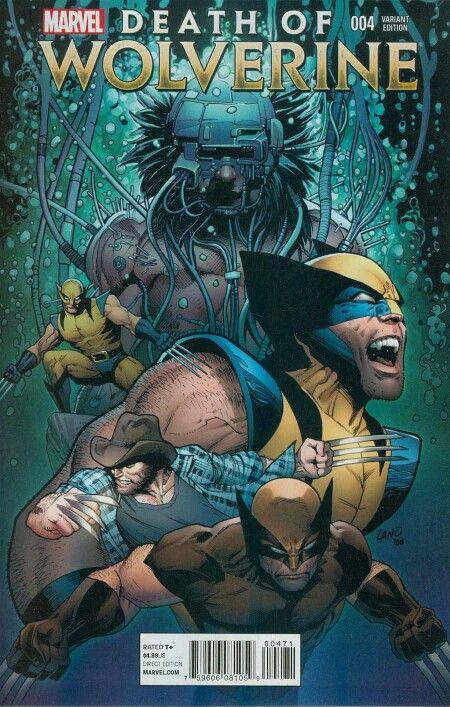 Death Of Wolverine #4: Greg Land Variant Cover