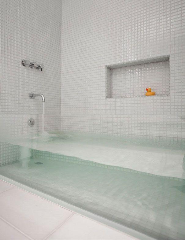 32 id es insolites pour rendre votre maison originale bathroom pinterest ba os ba o y. Black Bedroom Furniture Sets. Home Design Ideas