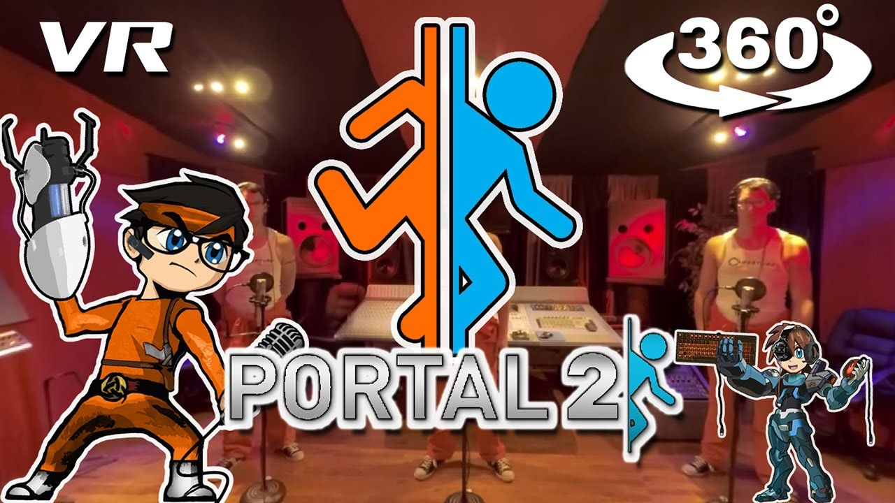 (8. 10. 2016) Portal 2 - 360° Video - Want You Gone Acapella. Meet Mr Dooves singing Want You Gone in Acapella 미스터 두브스의 아카펠라로 만나보는 게임 포탈 2 수록곡 Want You Gone! ▶ Watch on WAVRP: http://wavrp.com/awesome ◀#wavrp #vr #virtualreality #360video #curation
