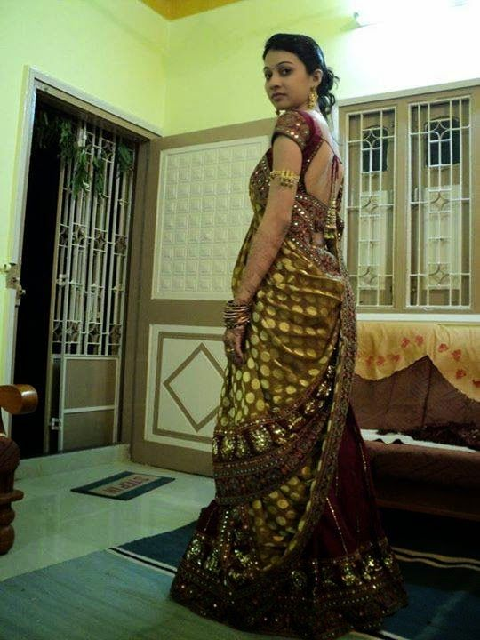 Indian Beautiful Housewife In Saree Images Collection -7162