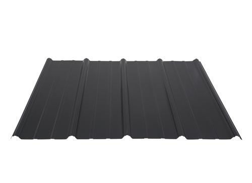 Best Black Pro Rib Steel Panel With Images Steel Panels Paneling Building Materials 400 x 300