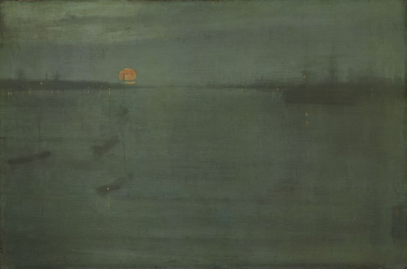Nocturne: Blue and Gold—Southampton Water | Art institute of