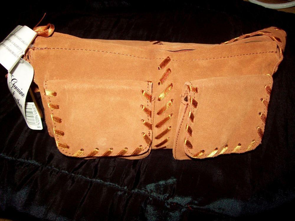 Brand New Mango Mng Original Real Leather Small Handbag Ladies