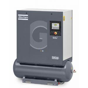 7 5 Hp Rotary Screw Air Compressor W Tank 24 7 Cfm Atlas Copco Ga5 150t Ap Www Compressorworld Com Air Compressor Compressor Rotary Compressor
