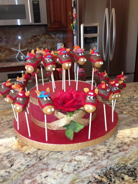 Kentucy Derby Cake Pops Done by: Nancy Hinds cakeswebake ...