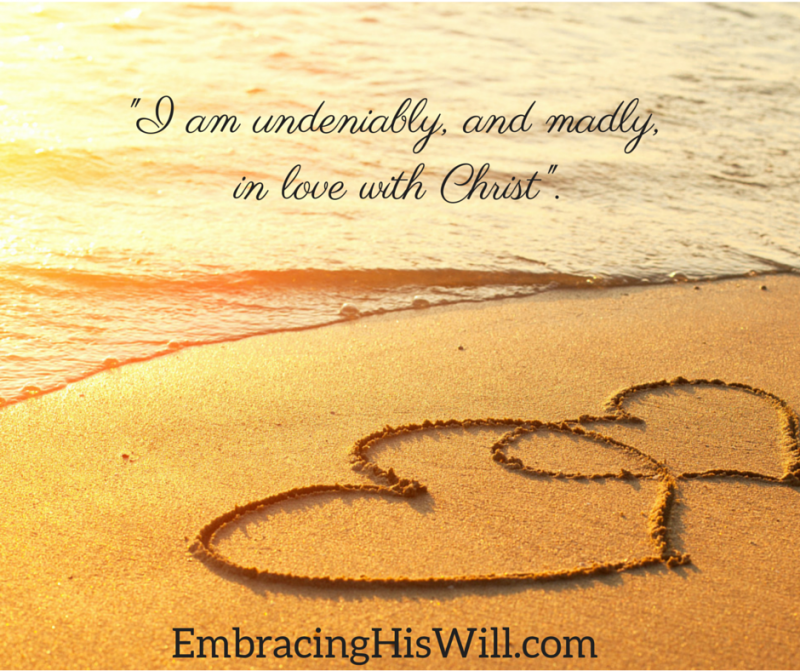 Burrowing in Busyness - Embracing His Will – God has been trying to bring me into quiet time with Him lately, but I've been very resistant. It isn't that I don't want to spend quiet time with Him. I am undeniably, madly, in love with Christ. But, well, I have been fighting one of the most intense spiritual battles of my life. And the truth is, there is no... #difficultseasons #faith #trust