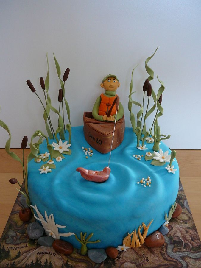 Fondant Fishing Pole Fondant All Edible Except For