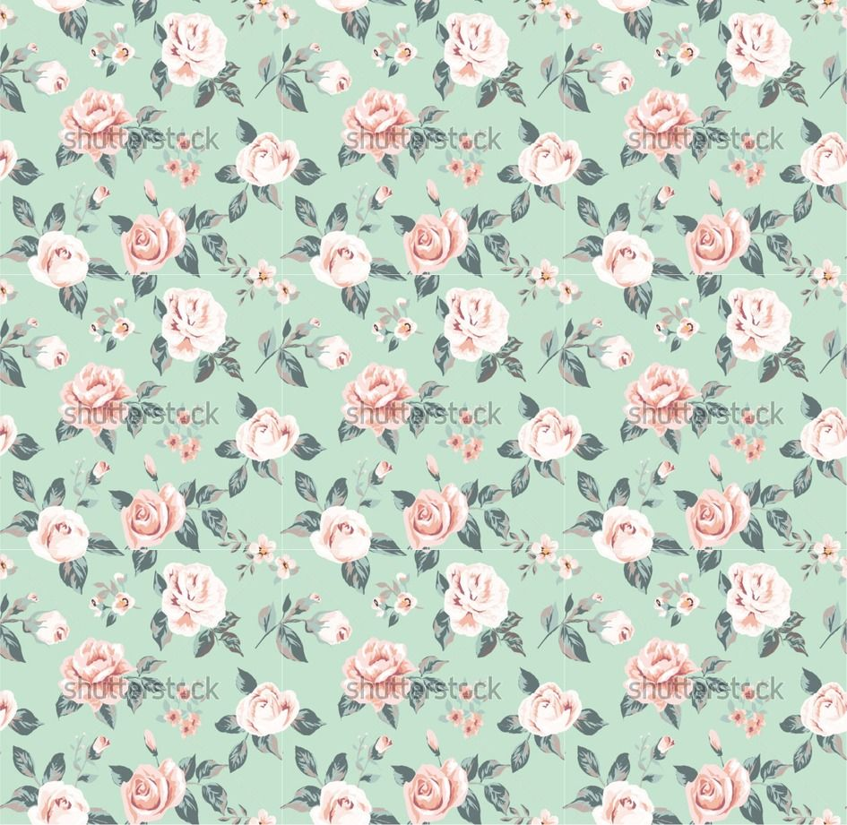 vintage flower pattern wallpaper vintage flower pattern on