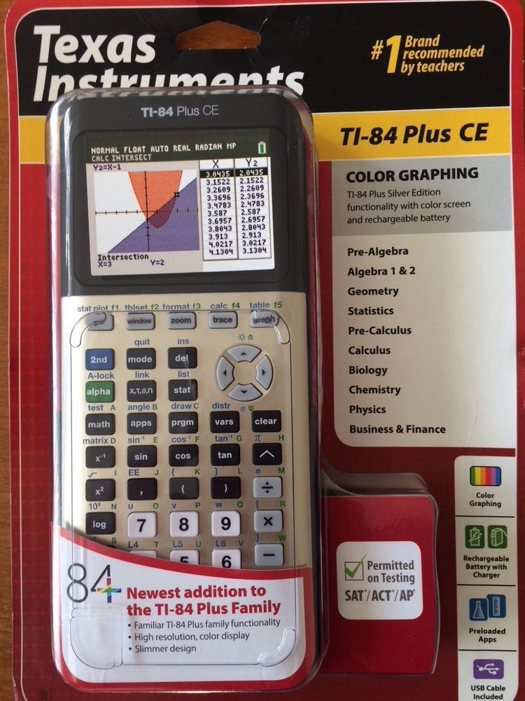 New Texas Instruments Ti 84 Plus Ce