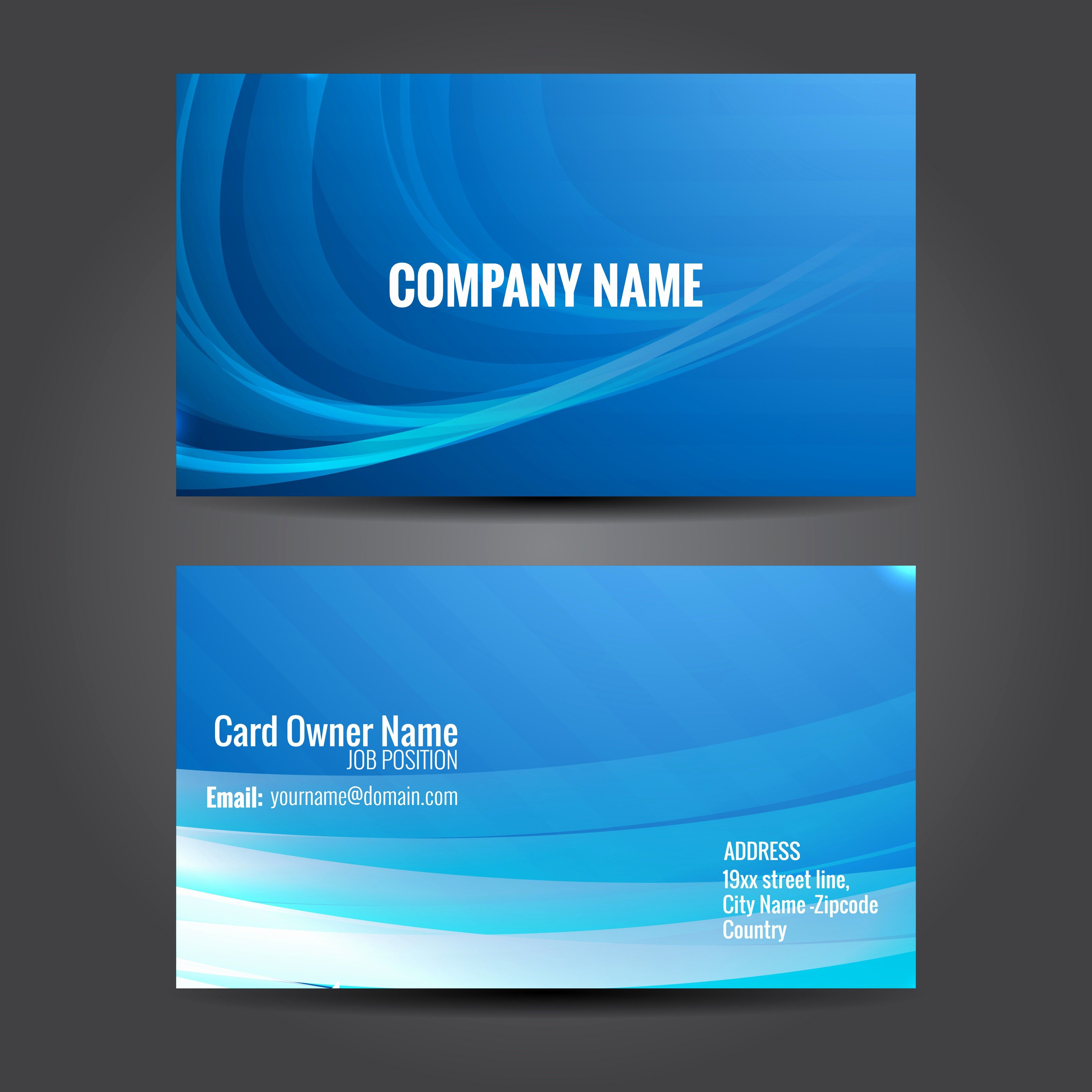 Blank Business Card Template Free Awesome Blank Business Cards Templates Free Downl Download Business Card Free Business Card Templates Visiting Card Templates