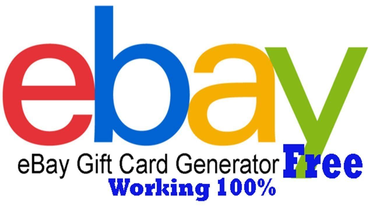 Ebay gift card codes ebay gift card free ebay gift