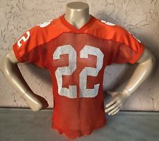 cheaper ff89f a7e3b Vintage Russell Athletic Clemson Tigers Football Jersey #22 ...