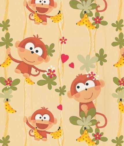 Pin by marinna matta on Tiger  Kids wallpaper, Monkey wallpaper