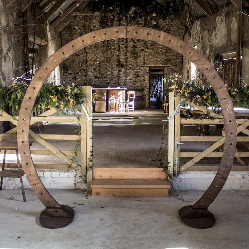 Circle arch for diy decoration wedding arch flowers