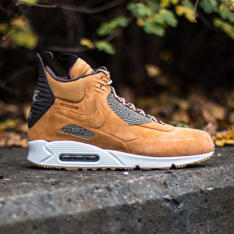Nike Air Max 90 Sneakerboot Size 10 Bronze Bamboo Wheat