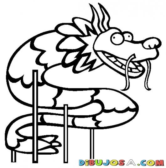 Free chinese new year coloring pages color in this picture of a chinese dragon and others with our library of online coloring pages