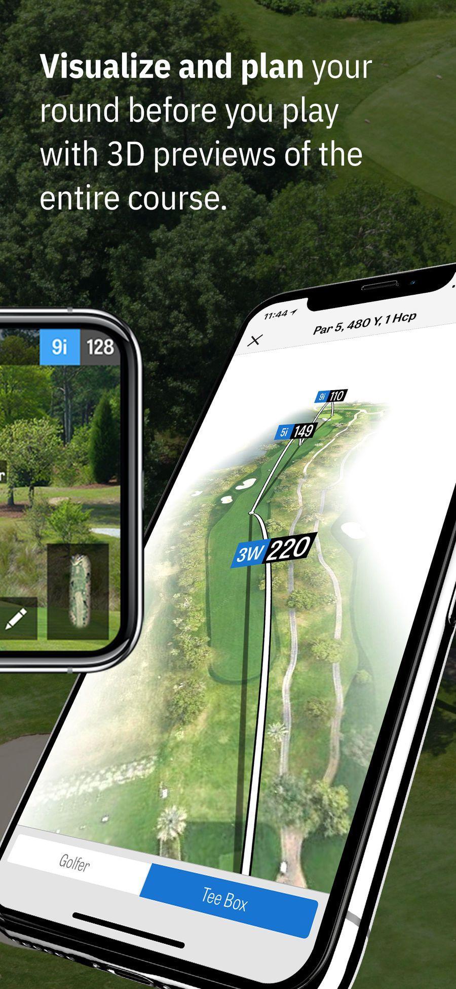 Golfshot golf gps ar sportssoftwarehealthfitness